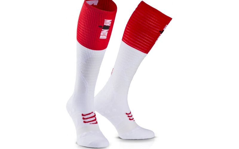 Compressport ProRacing Full Socks Ultralight Ironman pas cher