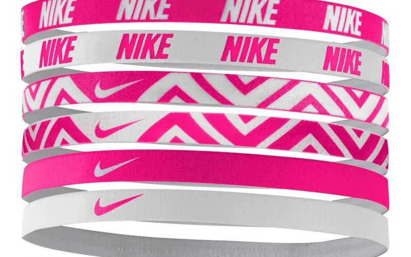 Nike Elastiques Hairbands x6 pas cher
