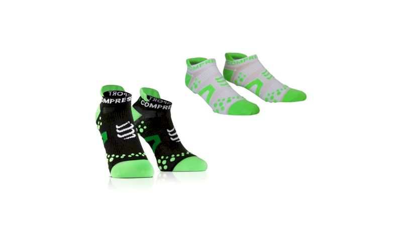 Compressport Pack Chaussettes Pro Racing V2 Run Low pas cher