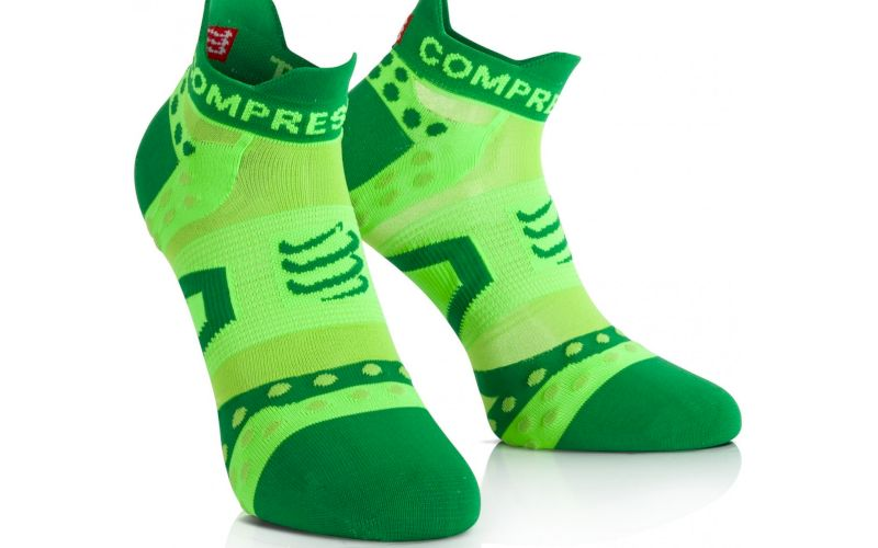 Compressport Pack Chaussettes Pro Racing Ultra Light Run Low pas cher