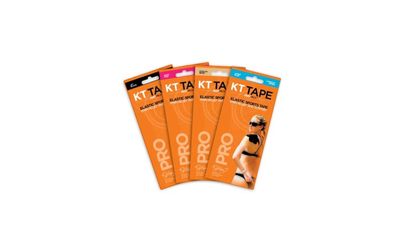 KT Tape Pack de 4 Fast Pack 3 bandes Synthetic Pro pas cher