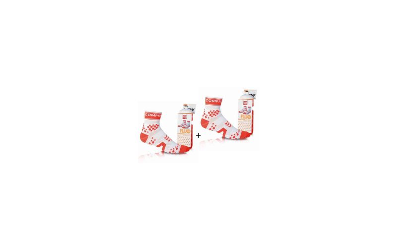 Compressport Pack Chaussettes Limited Edition + Bidon pas cher